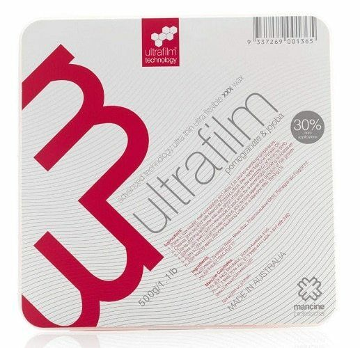 Mancine Ultra Film Pomegranate & Jojoba Hot Wax 500g
