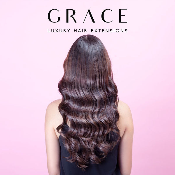 Grace Remy 3 Clip Weft Hair Extension - #1 Black