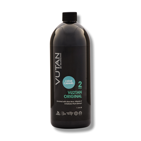 VuTan by TechnoTan Vu2Tan (2hr) – Creme Caramel – 1Litre-TechnoTan-Beautopia Hair & Beauty