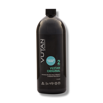 VuTan by TechnoTan Vu2Tan (2hr) – Chocolate Mousse – 1Litre-TechnoTan-Beautopia Hair & Beauty