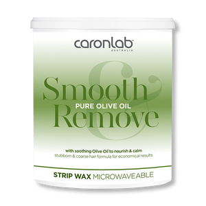Caronlab Strip Wax Smooth & Remove Olive Oil  800g - Beautopia Hair & Beauty
