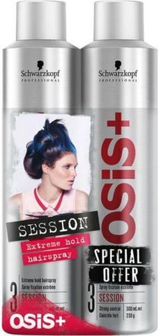 Schwarzkopf Osis Session 300ml Twin Pack