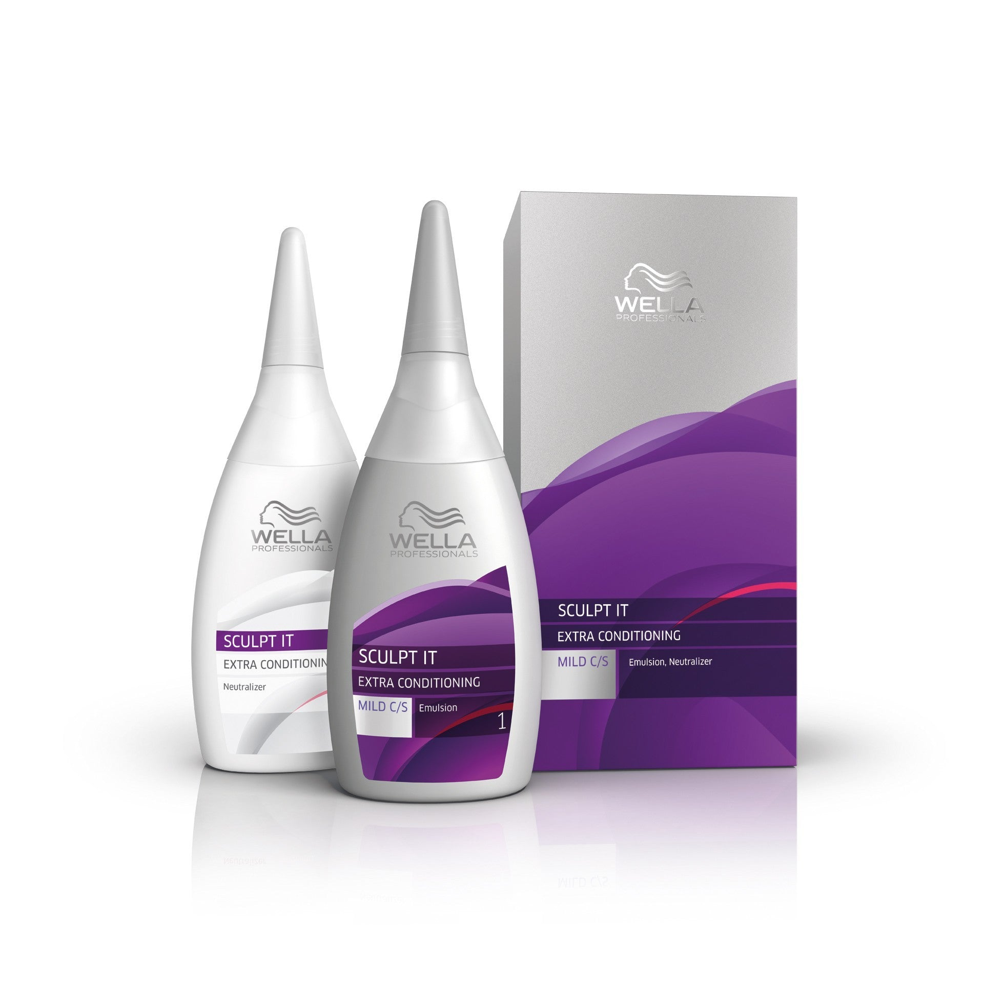 Wella Sculpt It Extra Conditioning Mild Kit - 100ml