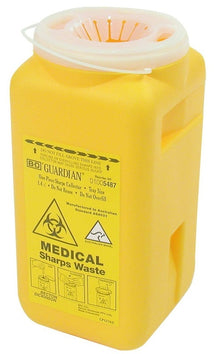 Guardian Sharps Disposal Unit - 1400ml