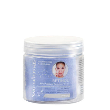 Spascriptions Retinol Eye Makeup Remover Pads 80pcs - Beautopia Hair & Beauty