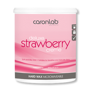 Caronlab Hard Wax Strawberry Creme - 800g