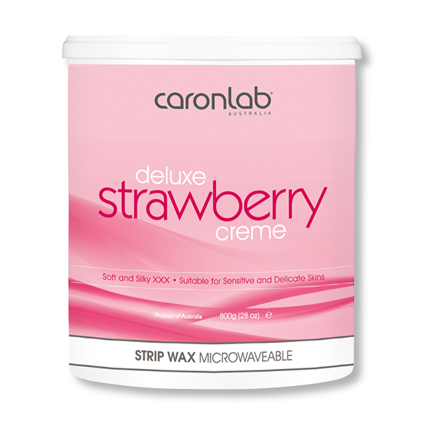 Caronlab Strip Wax Strawberry Creme - 800g