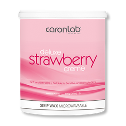 Caronlab Strip Wax Strawberry Creme - 800g-Caronlab-Beautopia Hair & Beauty