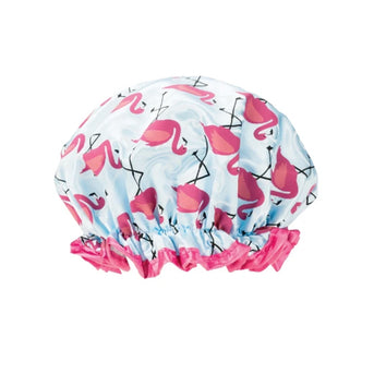 Studio Dry Shower Cap Flamingos