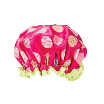 Studio Dry Shower Cap Polka Dot