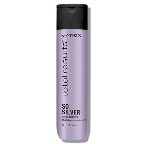 Matrix Total Results Color Obsessed So Silver Shampoo 300ml-Matrix-Beautopia Hair & Beauty