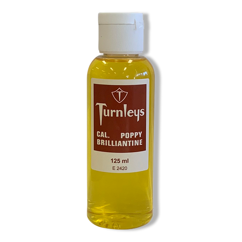 Turnleys Cal. Poppy Brilliantine 125ml-Turnleys-Beautopia Hair & Beauty