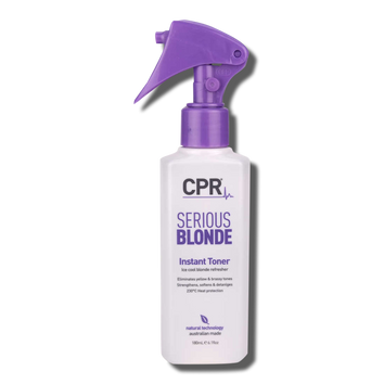 CPR Vitafive Serious Blonde Instant Toner 180ml - Beautopia Hair & Beauty