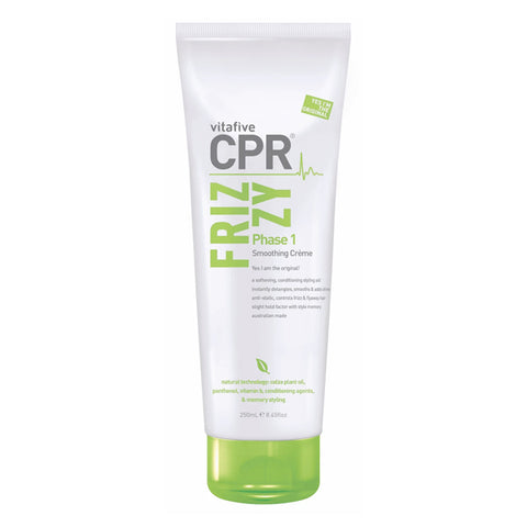 CPR Vitafive Frizzy Phase 1 Smoothing Creme 250ml - Beautopia Hair & Beauty