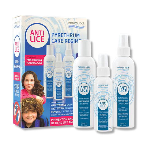 Natural Look Anti-Lice Pyrethrum Care Regimen Pack-Natural Look-Beautopia Hair & Beauty