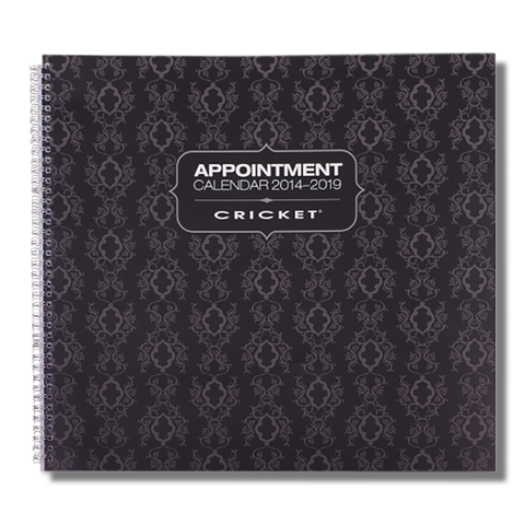 Cricket Appointment Book 6-12 Column-Cricket-Beautopia Hair & Beauty