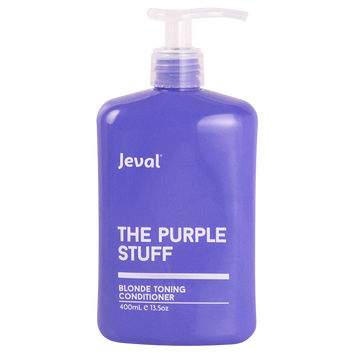 Jeval The Purple Stuff Blonde Conditioner 400ML - Beautopia Hair & Beauty
