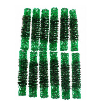 Santorini Brush Rollers - Green 13mm - 12pk