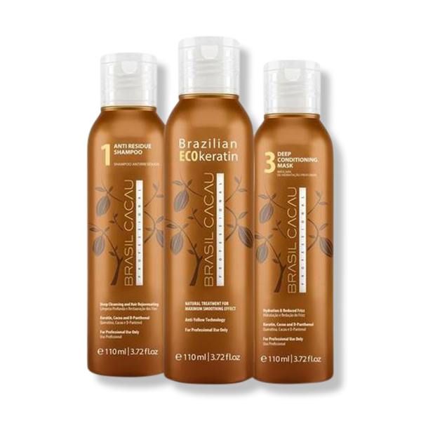 Brasil Cacau Keratin Treatment 110ml Kit-Brasil Cacau Professional-Beautopia Hair & Beauty