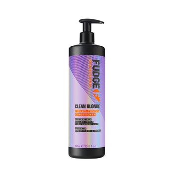 Fudge Clean Blonde Violet Toning Conditioner 1 Litre - Beautopia Hair & Beauty