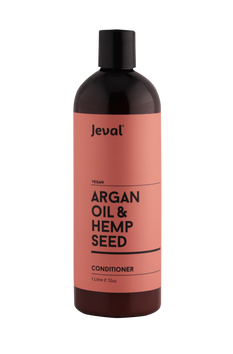 Jeval Infusions Argan Oil & Hemp Seed Conditioner 1 Litre - Beautopia Hair & Beauty