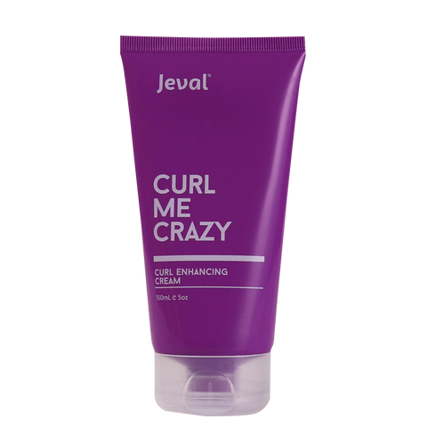 Jeval Curl Me Crazy Curl Enhancing Cream 150ml - Beautopia Hair & Beauty