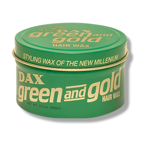 Dax Wax Green & Gold - 99g-DAX-Beautopia Hair & Beauty