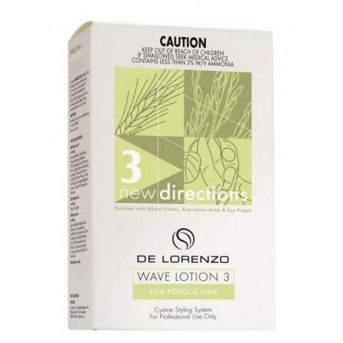 De Lorenzo New Directions Waving Lotion 3 for Porous Hair 100ml