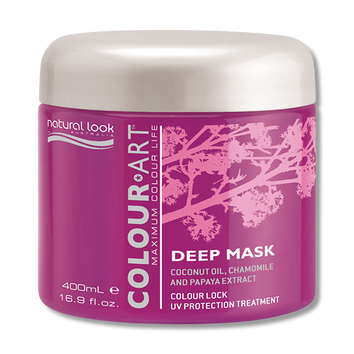 Natural Look Colour Art Deep Mask 400g