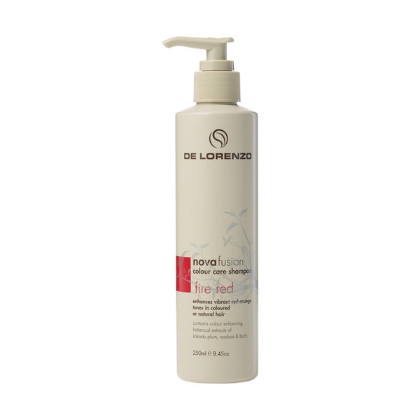 De Lorenzo Novafusion Fire Red Shampoo 250ml