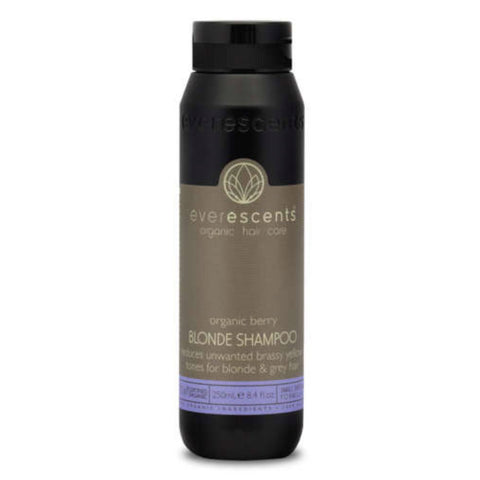 Everescents Organic Berry Blonde Shampoo 250ml - Beautopia Hair & Beauty