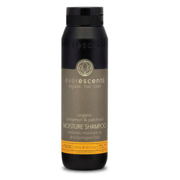 Everescents Cinnamon & Patchouli Moisture Shampoo 250ml - Beautopia Hair & Beauty