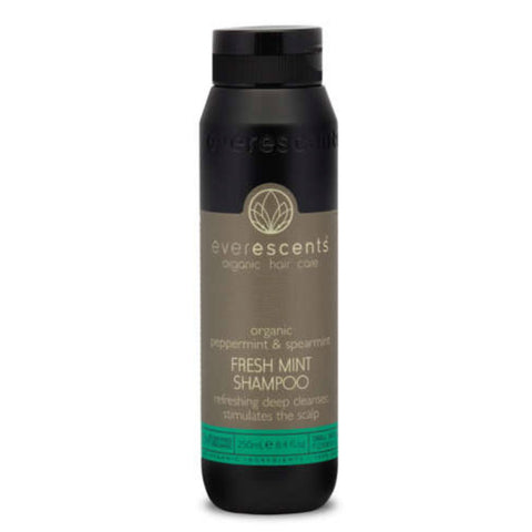 Everescents Organic Fresh Mint Shampoo 250ml - Beautopia Hair & Beauty