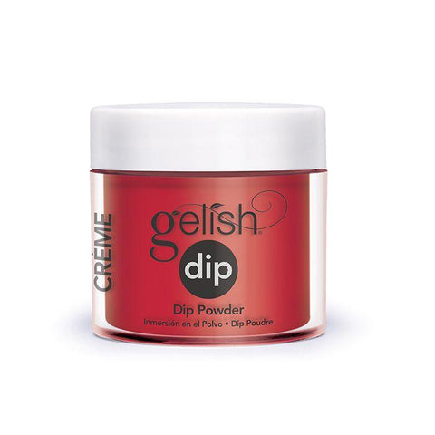 Gelish Dip Hot Rod Red - Beautopia Hair & Beauty