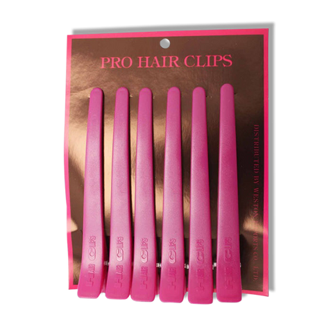 Grace Pro Sectioning Clips Pink - Beautopia Hair & Beauty