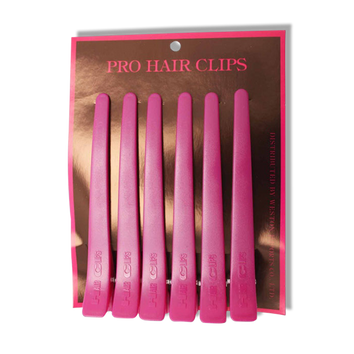Grace Pro Sectioning Clips Pink-Grace-Beautopia Hair & Beauty