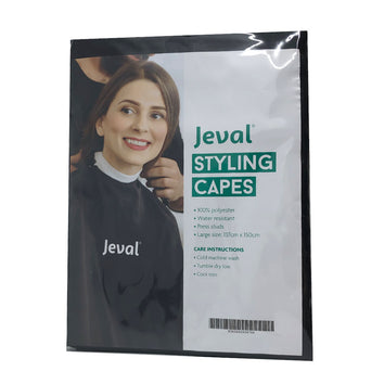 Jeval Styling Capes Black - Beautopia Hair & Beauty