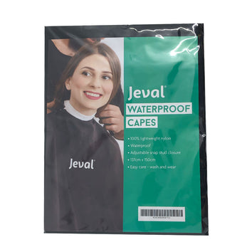 Jeval Waterproof Capes Black - Beautopia Hair & Beauty
