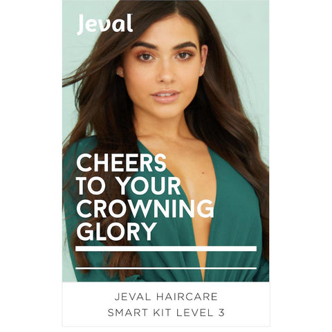 Jeval Haircare Smart Kit Level 3 - (124 Items) SAVE 33%
