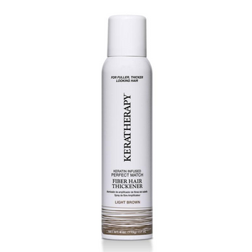 Keratherapy Fiber Hair Thickener Light Brown 140ml-Keratherapy-Beautopia Hair & Beauty