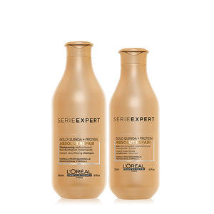 L'oreal Professional Absolut Repair Shampoo 300ml & Conditioner 200ml Twin