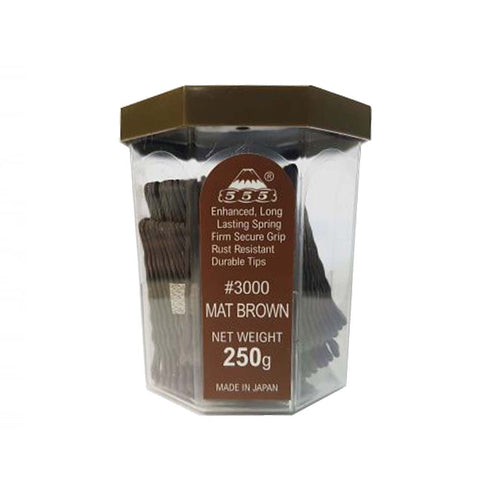 Bobby pin 3000 2inch Mat brown - Beautopia Hair & Beauty