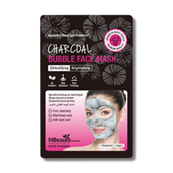 MBeauty Charcoal Bubble Face Mask-MBeauty Cosmetics-Beautopia Hair & Beauty