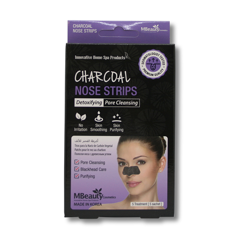 MBeauty Charcoal Nose Strips-MBeauty Cosmetics-Beautopia Hair & Beauty
