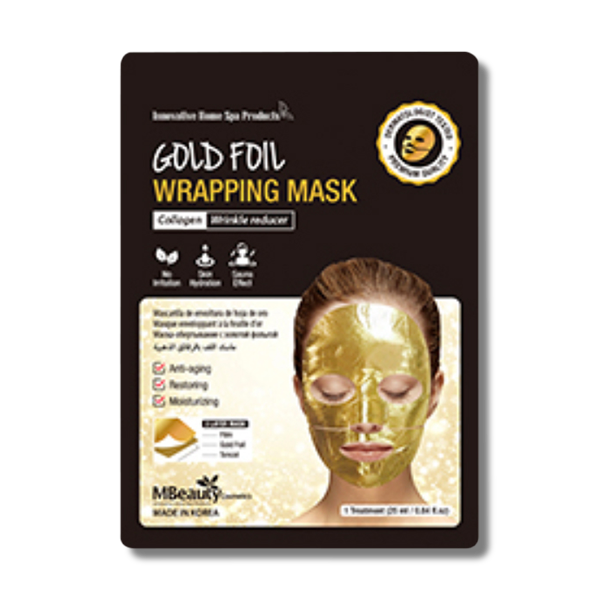 MBeauty Gold Foil Wrapping Mask-MBeauty Cosmetics-Beautopia Hair & Beauty
