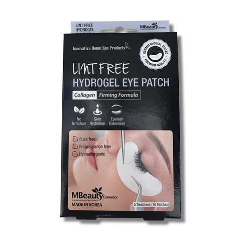MBeauty Lint Free Hydrogel Eye Patch-MBeauty Cosmetics-Beautopia Hair & Beauty