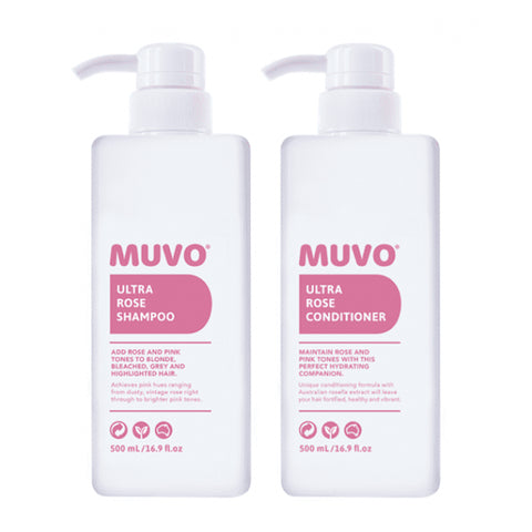 MUVO Ultra Rose Pack 500ml - Beautopia Hair & Beauty