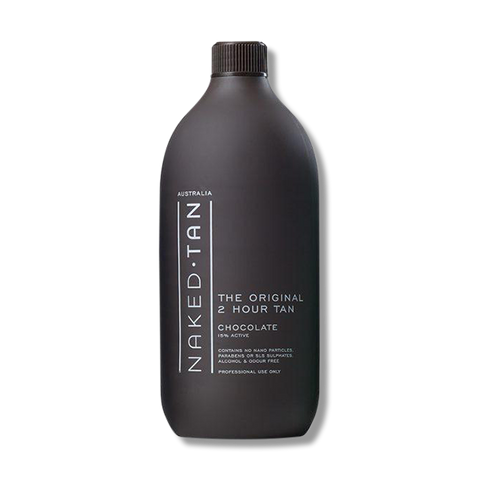 Naked Tan Chocolate 2 Hour Tan Solution - 1L