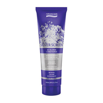 Natural Look Movie Tones Silver Screen Ice Blonde Conditioner 300ml - Beautopia Hair & Beauty