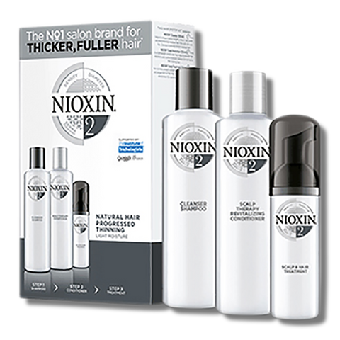 Nioxin System 2 Trial Kit-Nioxin-Beautopia Hair & Beauty